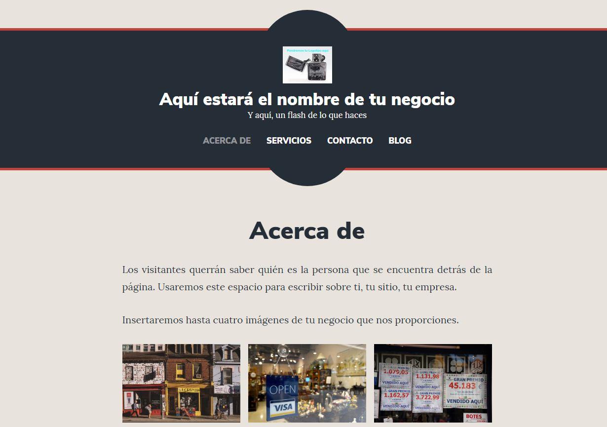 Pack Web prediseñado Brompton Desarrollo Web Lugo