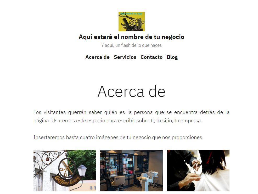 Pack Web prediseñado Mywood Desarrollo Web Lugo