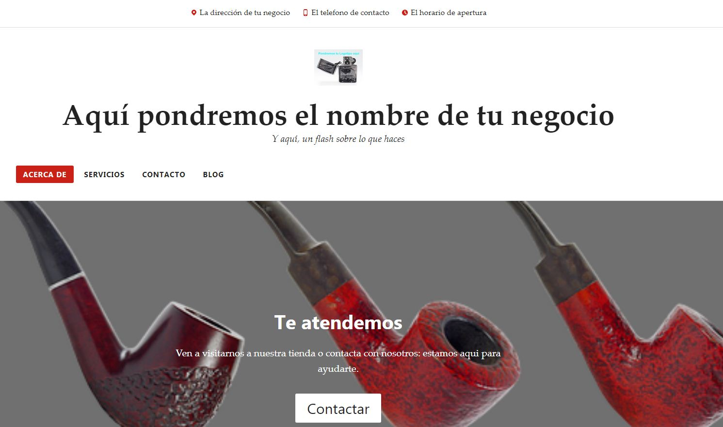Pack web prediseñado Radcliffe Desarrollo web Lugo